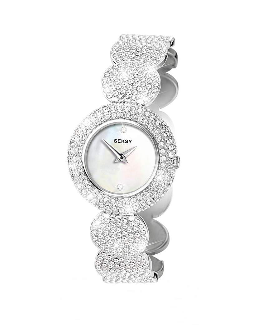 Seksy Ladies Elegance Stone Set Watch