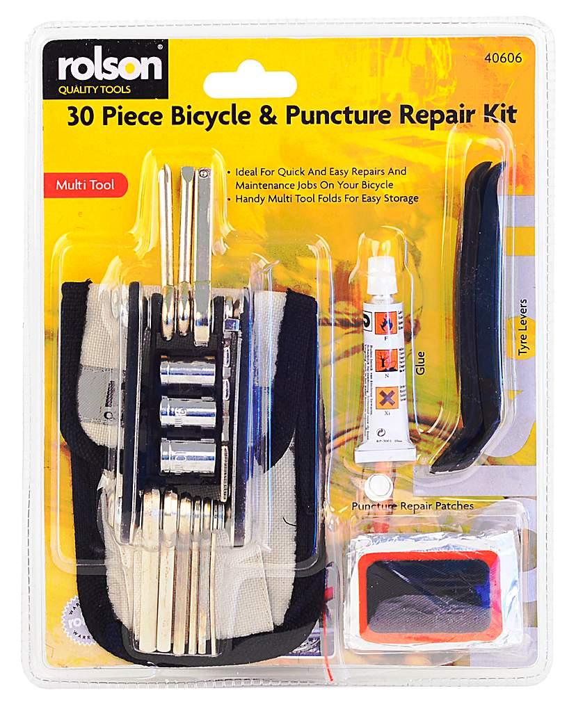 Image of Rolson 30 in 1 Bike Repair Kit