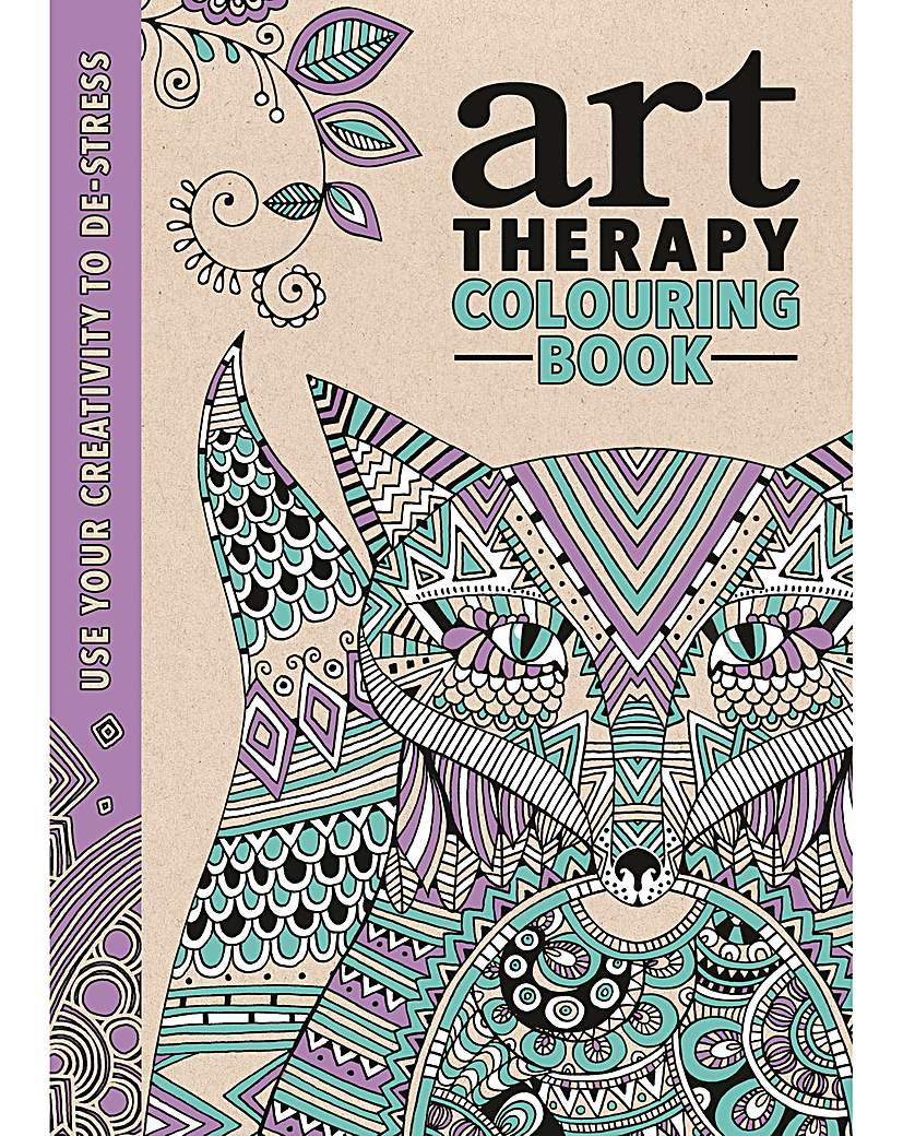Image of ART THERAPY COLOURING BOOK