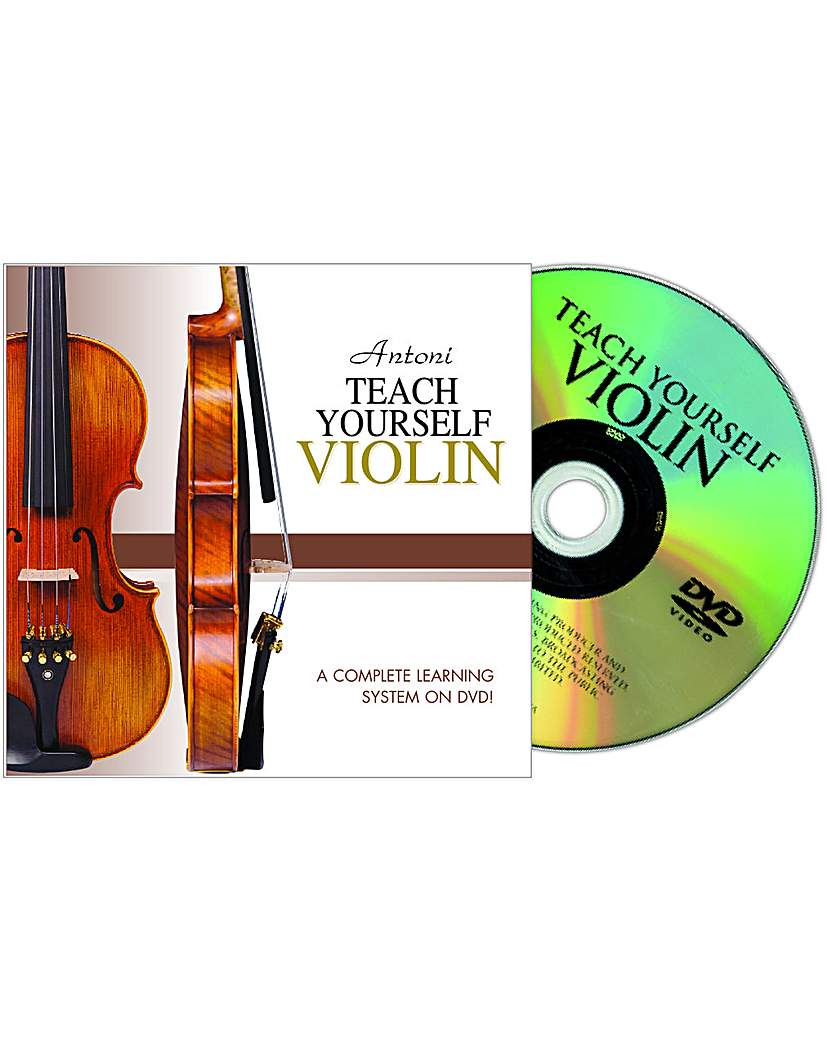 Image of Antoni Violin Tutor Dvd
