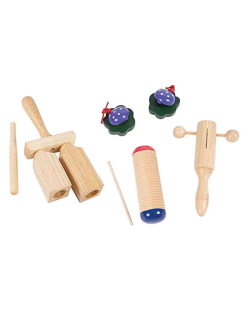 Image of P P Music Box - Wood Set