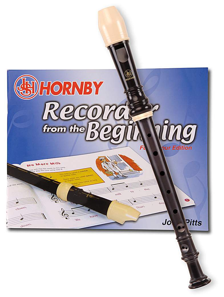 Image of Hornby C Descant Recorder With Tutor
