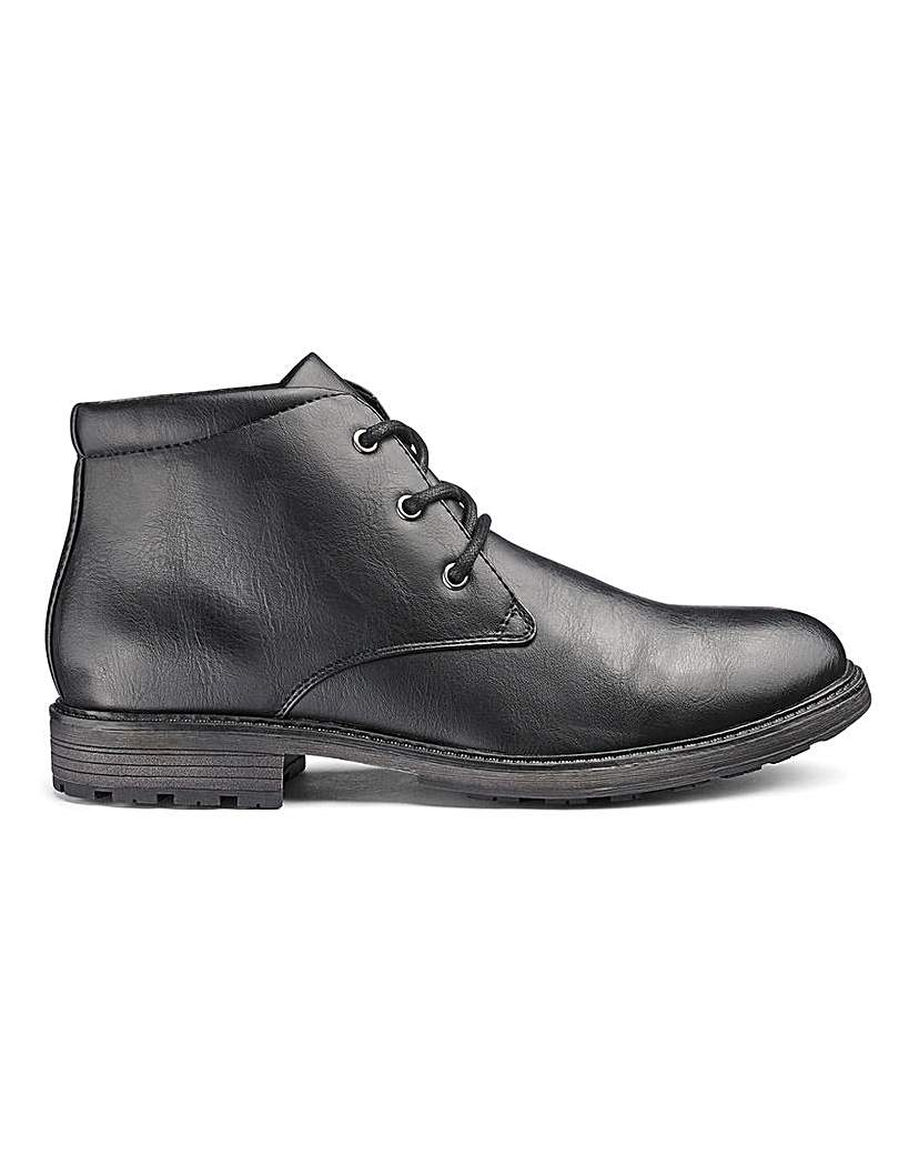 Leather Look Chukka Boot.