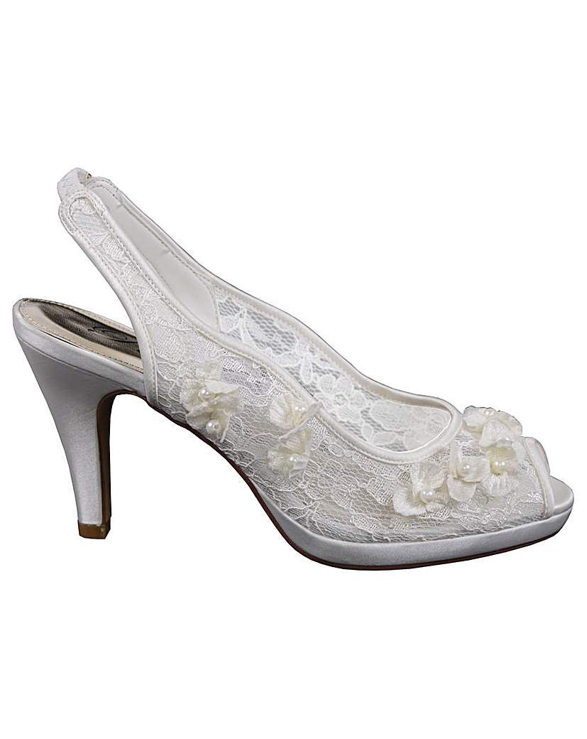 Vintage Inspired Wedding Dresses Perfect Sandal Sling Back £47.00 AT vintagedancer.com