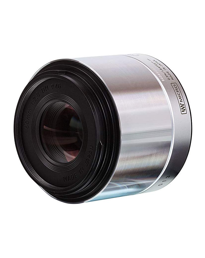 Sigma 60mm f/2.8 Sony fit Lens - Silver