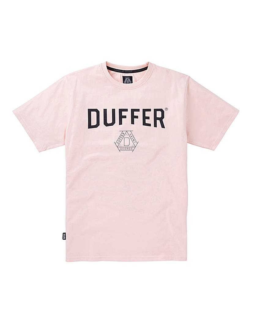 Duffer Pinner Print T-Shirt Long.