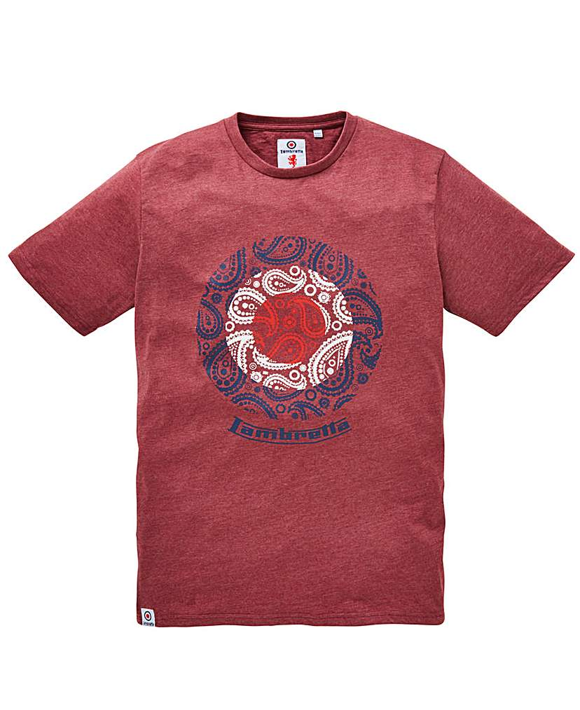 Lambretta Original Scooter T-Shirt Long