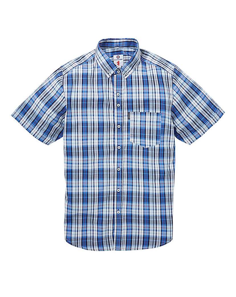 Image of Lambretta Multi Check SS Shirt Long