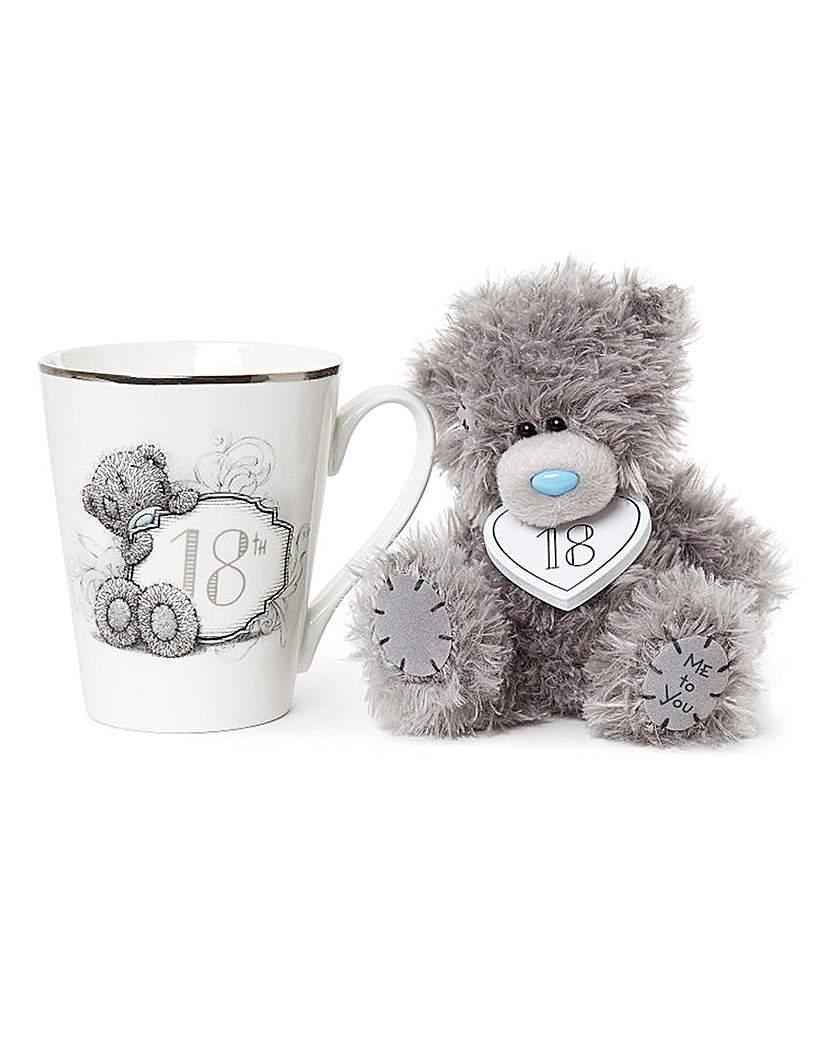 Image of Me to You Gift Boxed 18th Mug and Plush