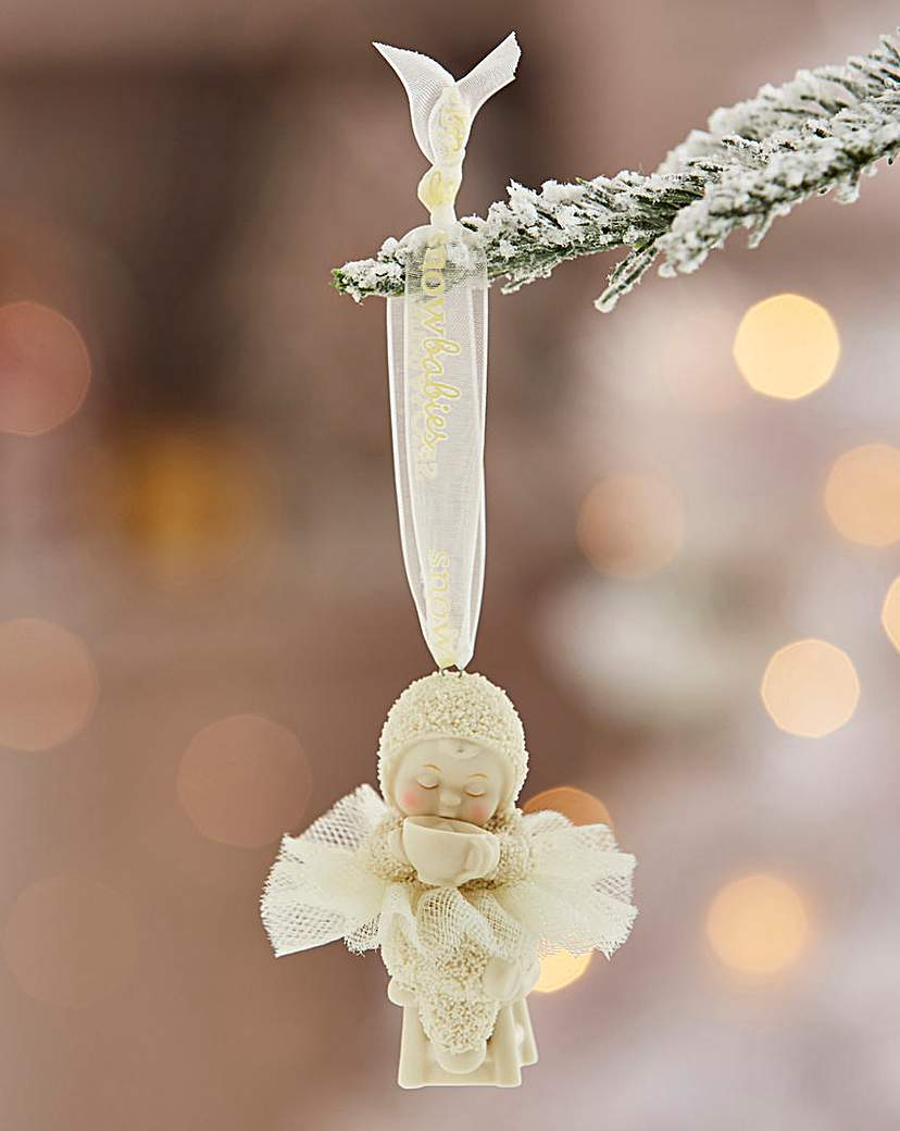 Image of Snowbabies Coffee First Hanging Ornament