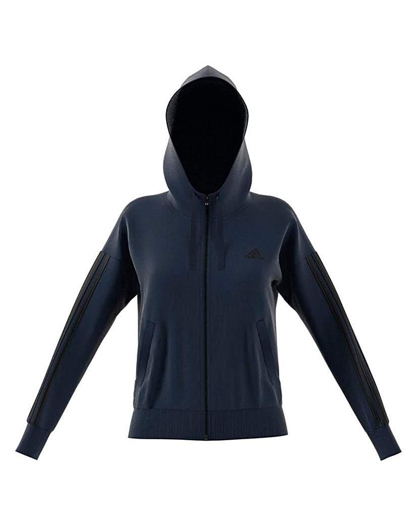 Image of Adidas 3 Stripe Hoodie