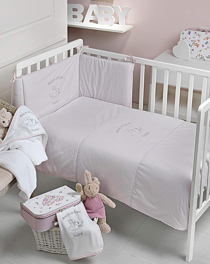Image of Rock A Bye Baby 2 Piece Bedding Set