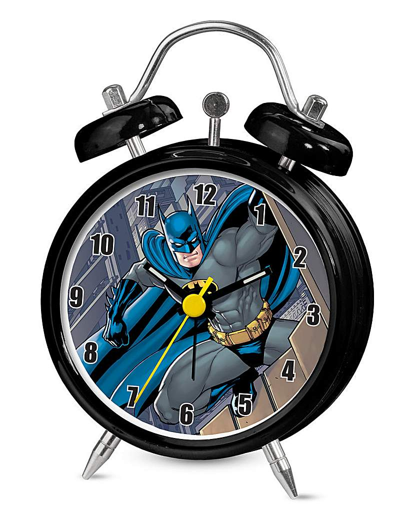 Image of Batman Mini Twin Bell Alarm Clock
