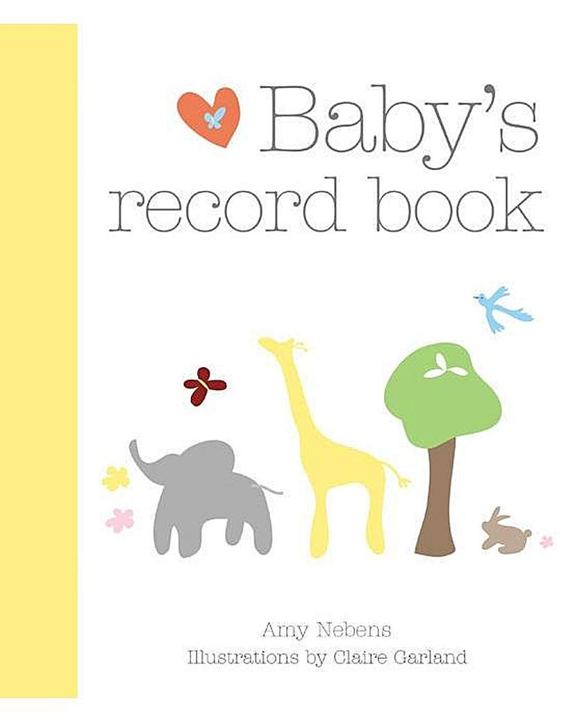 Image of BABYS RECORD BOOK