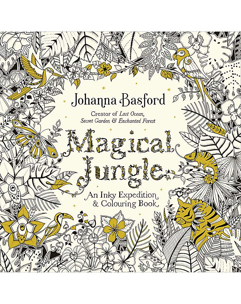 Image of MAGICAL JUNGLE AN INKY ADVENTURE & COLOU