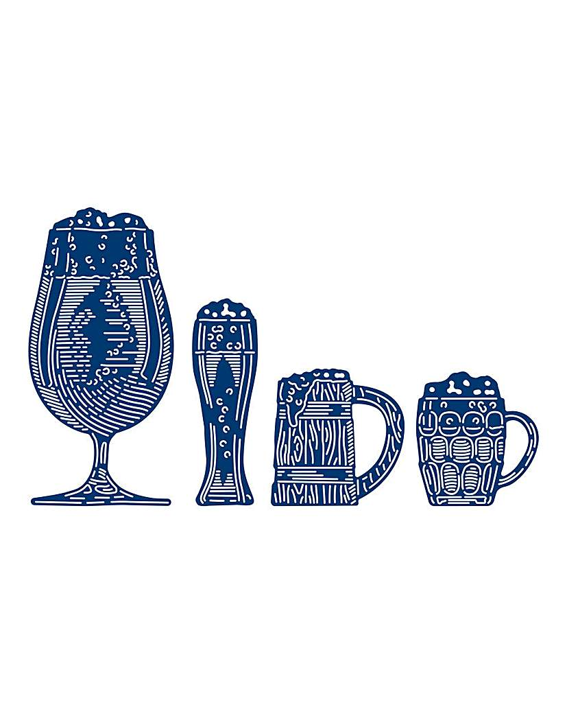 Tattered Lace Beer Glasses