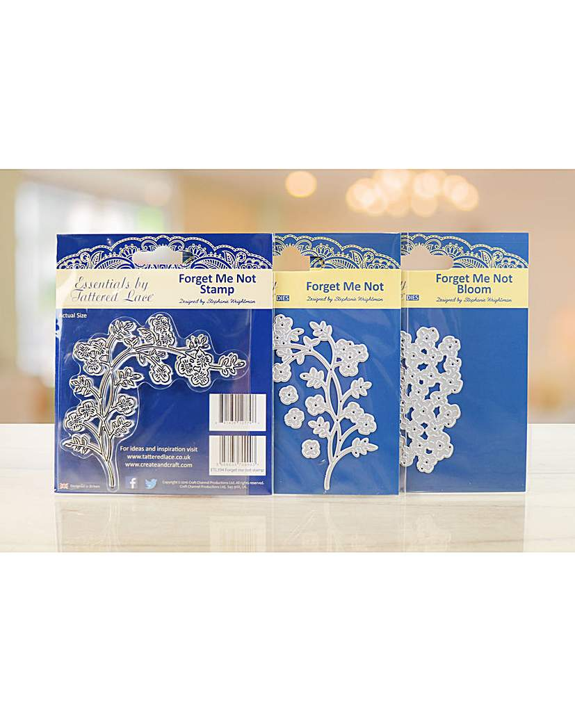 Tattered Lace Forget Me Not Bundle