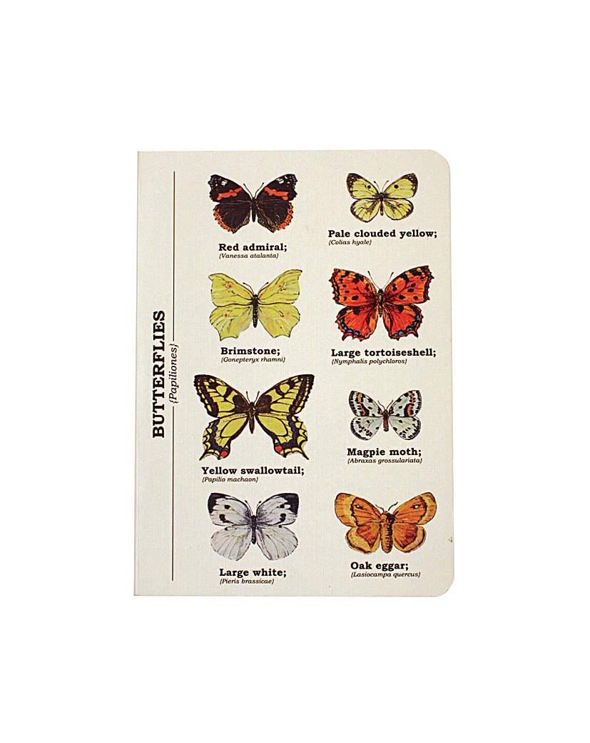 Butterly A6 Notebook