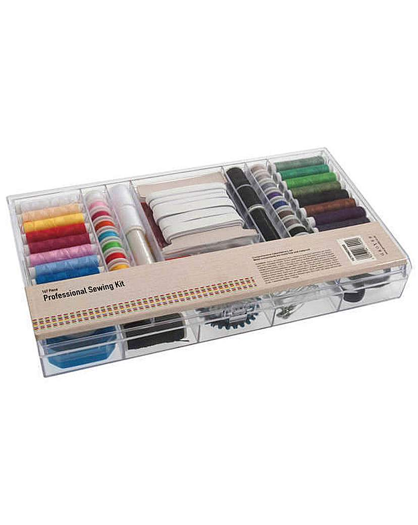 Image of Professional Sewing Kit 167 Pieces.