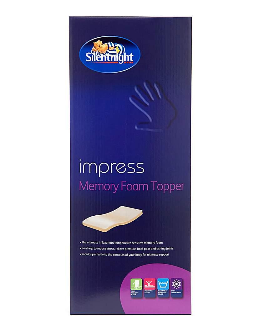 Image of Memory Foam Mattress Topper 5cm