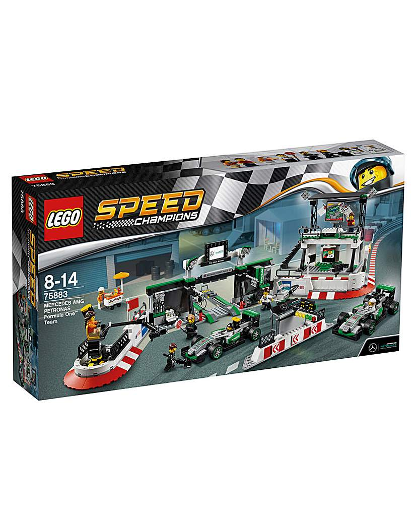 Image of LEGO Speed Champions Mercedes F1 Team