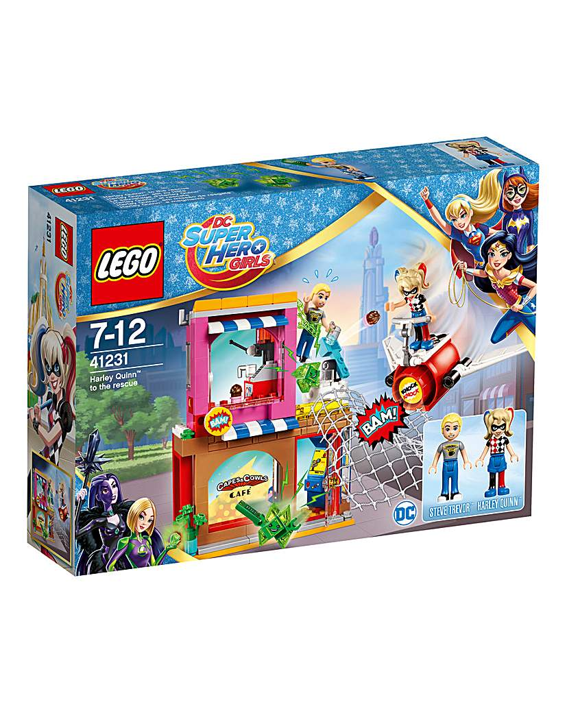 Image of LEGO DC Super Hero Girls Harley to the R