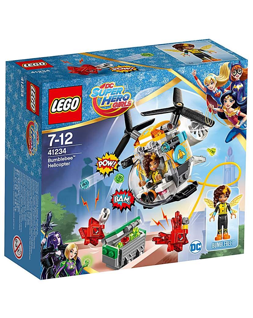 Image of LEGO DC Girls Bumblebee Helicopter
