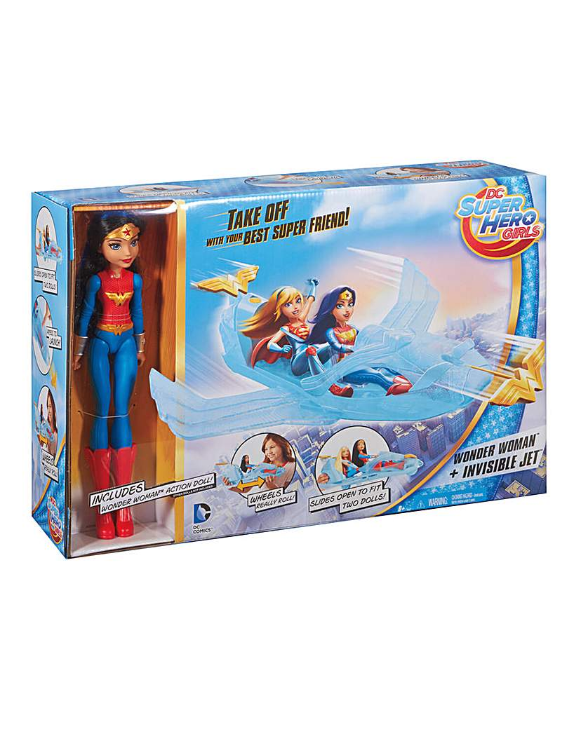 Image of Hero Girls Wonder Woman & Invisible Jet