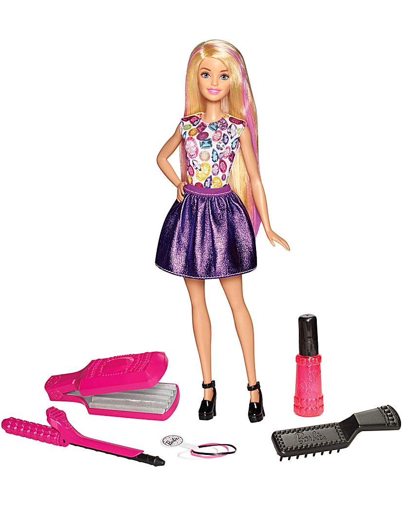 Image of Barbie Colourful Crimps & Curls