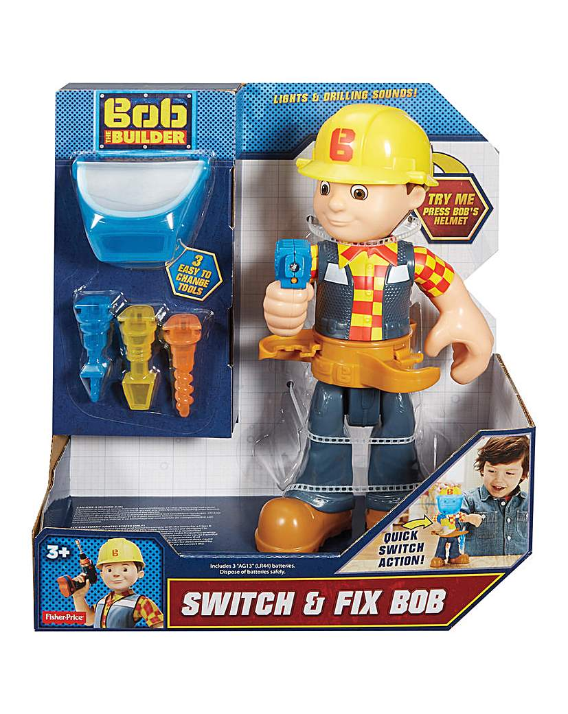 Image of Bob the Builder Switch & Fix Bob
