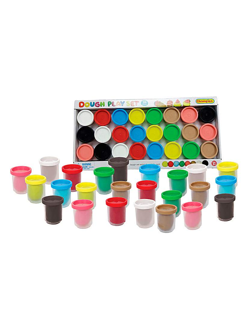 Image of 24 Piece Playdough Set