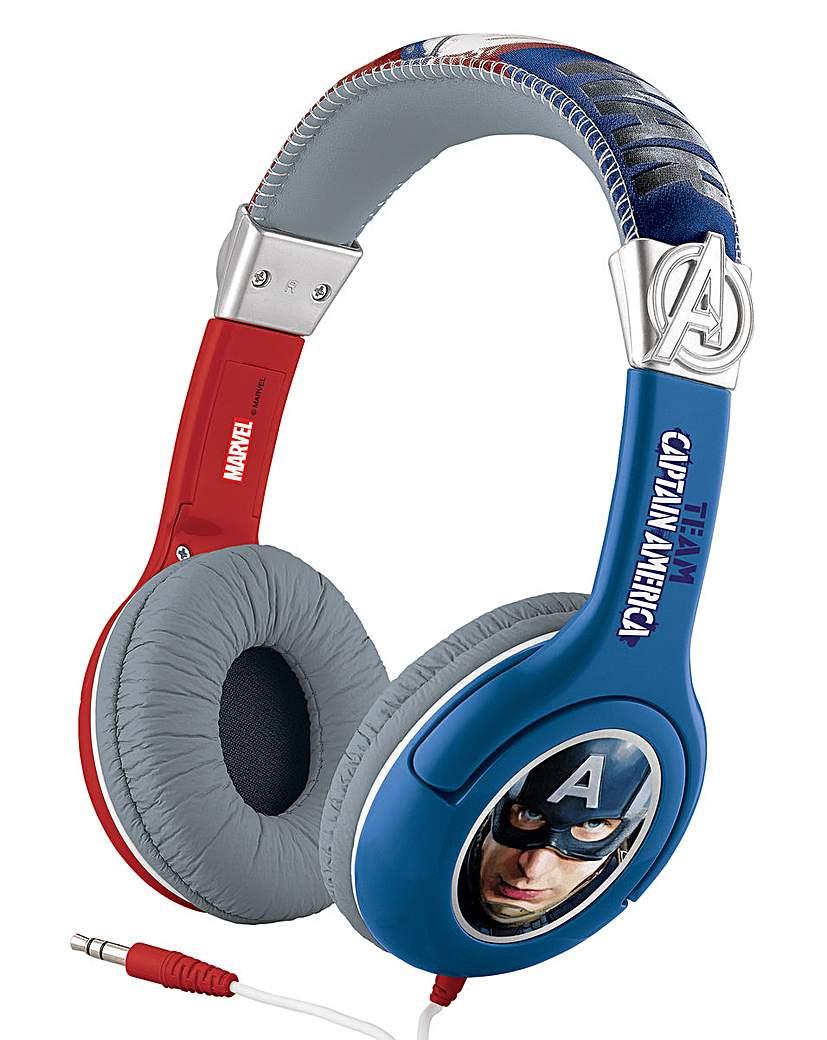 Image of Captain America Civil War Headphones