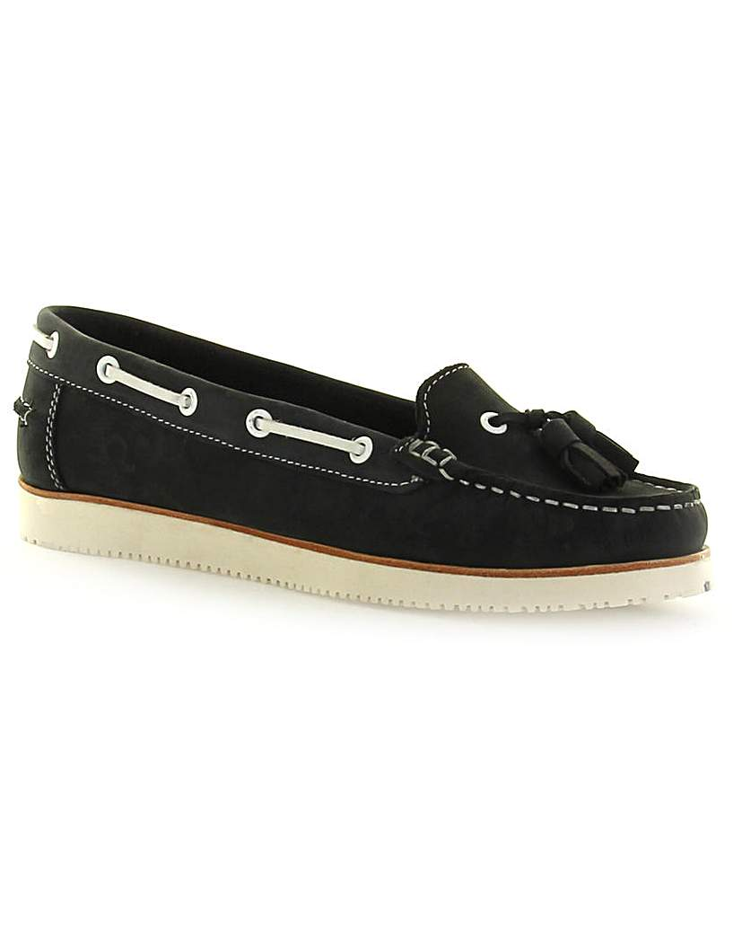 Chatham Jessa Tassel Boat Shoes