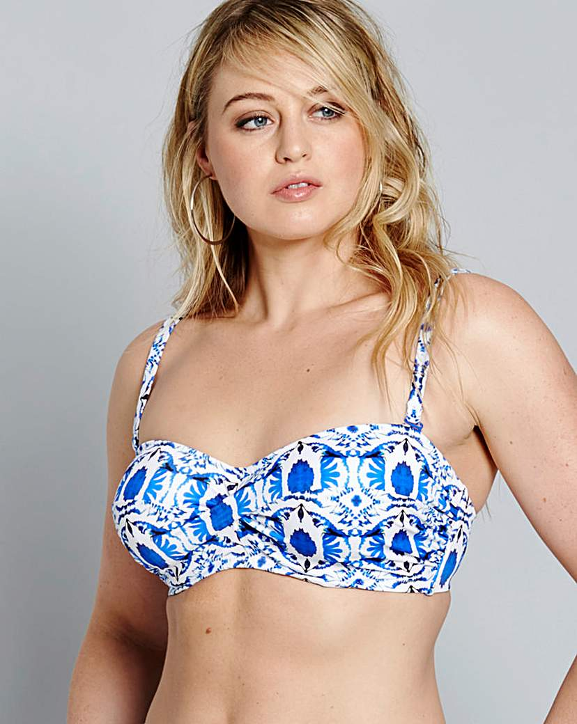Fantasie Averio Bandeau Bikini Top.