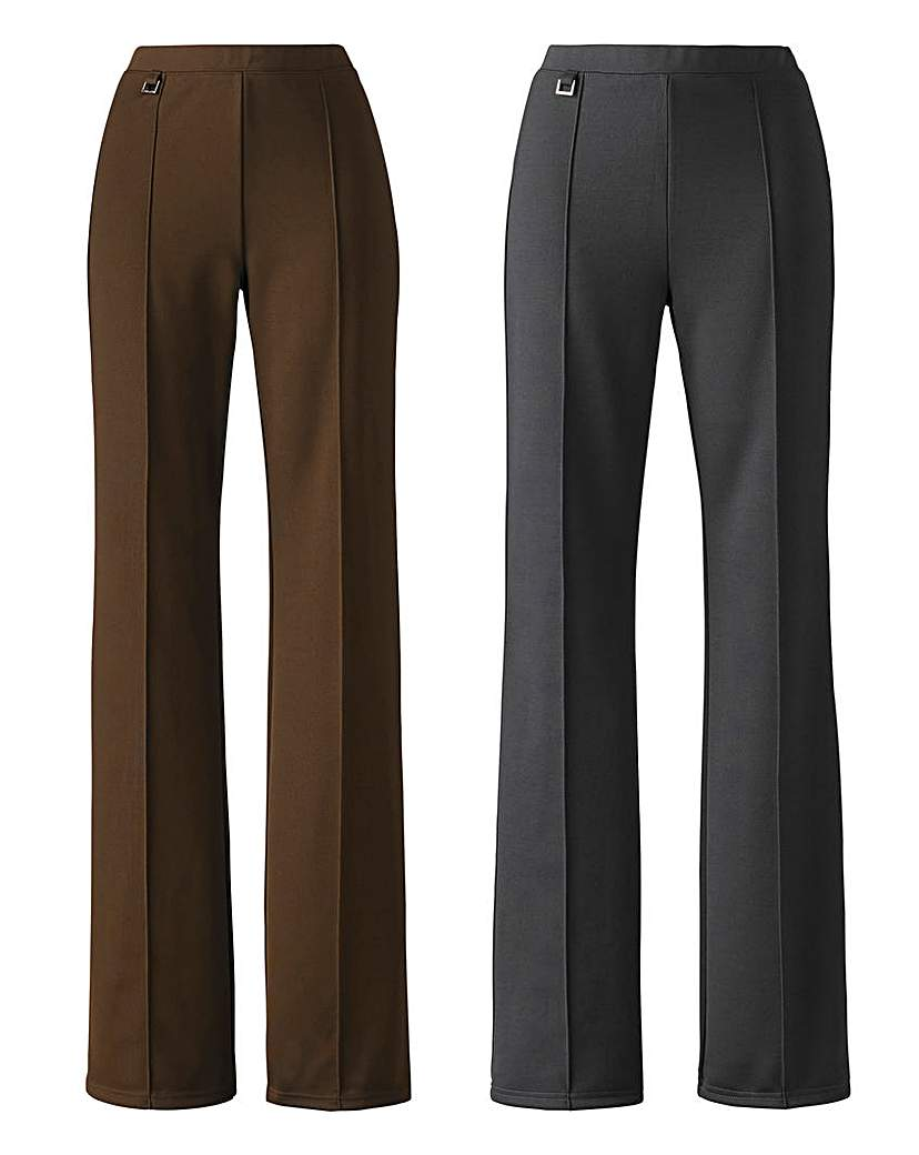 2 Pack of Trousers Length 25in
