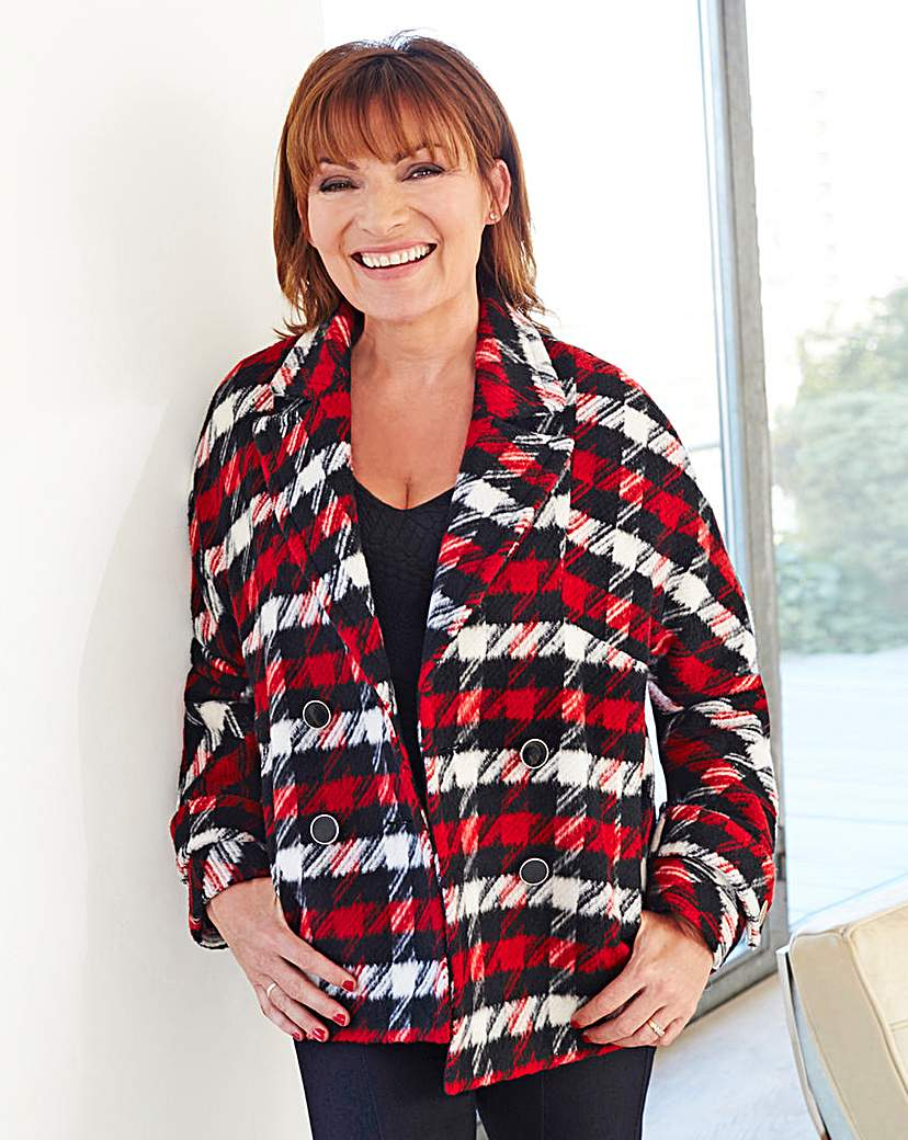 Lorraine Kelly Check Jacket