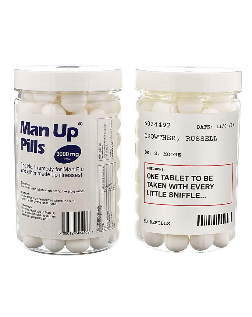 Personalised Man Up Pills