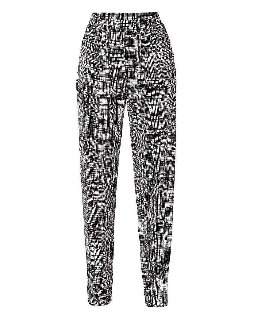 Image of Harem Jersey Trouser