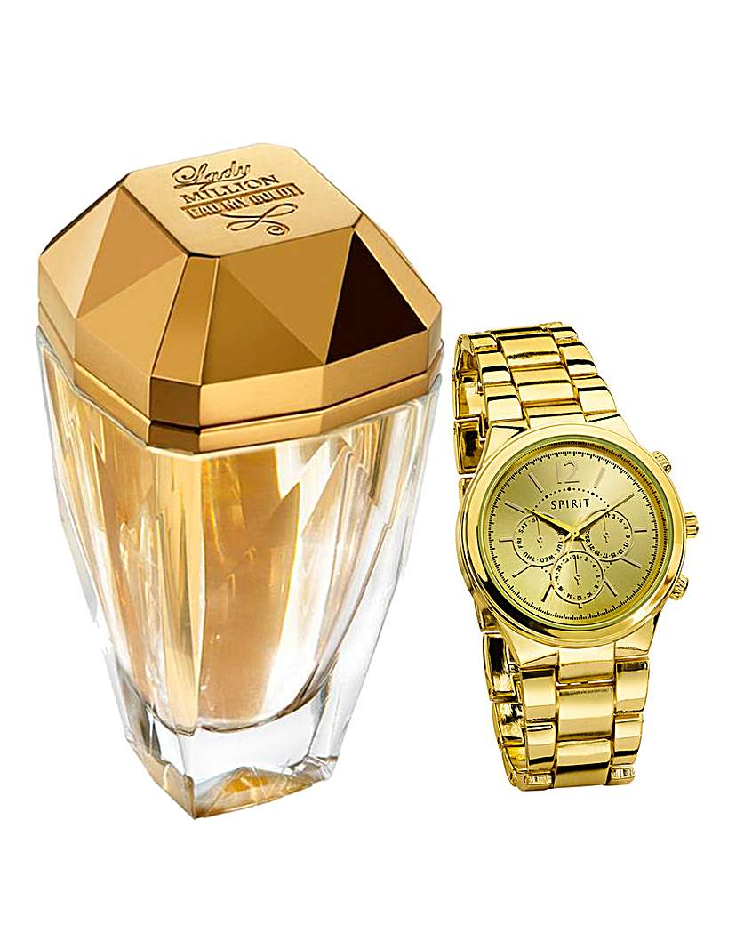 Eau My Gold 50ml EDT & Free Watch