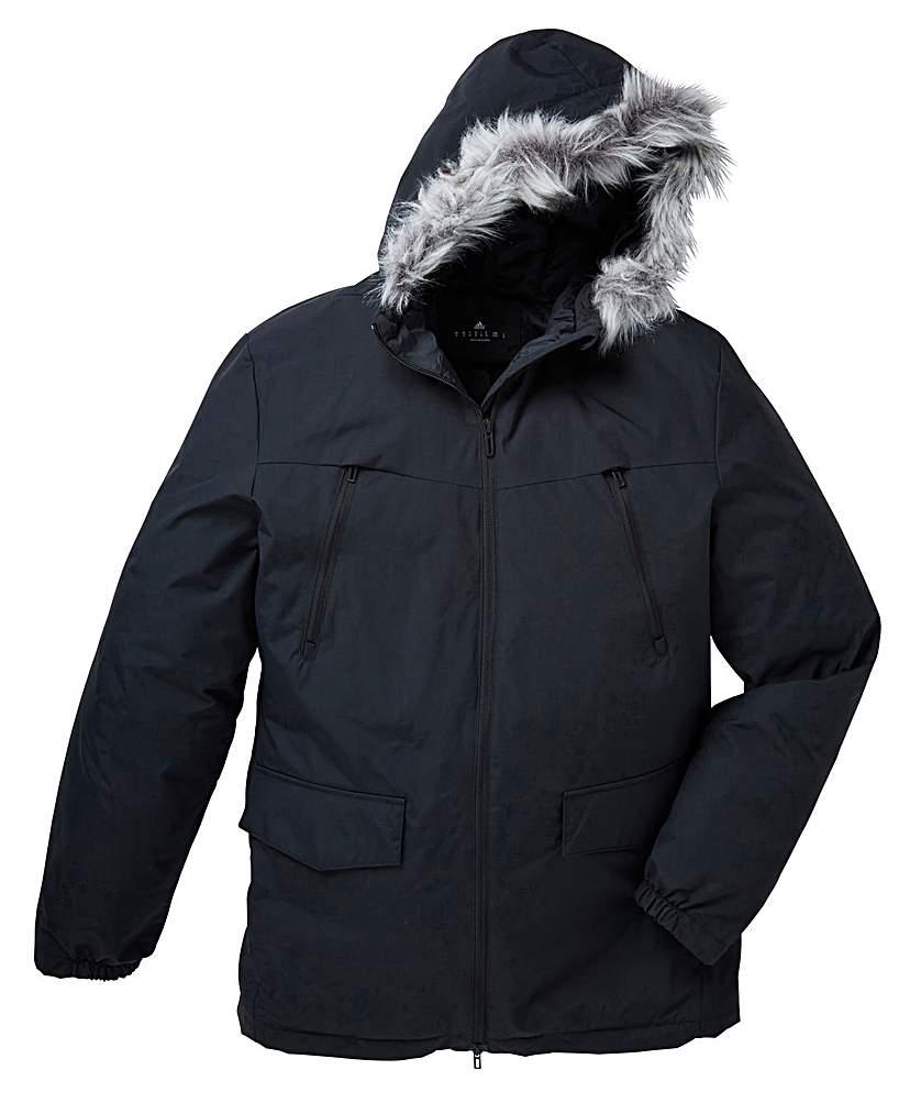 Stockists of adidas Fur Parka Jacket