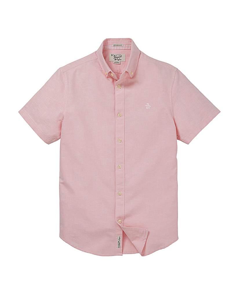 Image of Original Penguin Oxford Pink Shirt