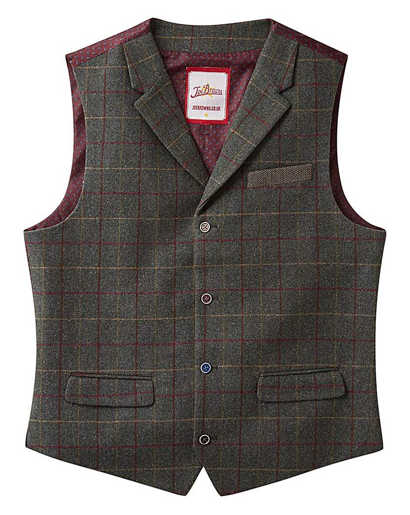Dress in Great Gatsby Clothes for Men Joe Browns Mix It Up Waistcoat £50.00 AT vintagedancer.com