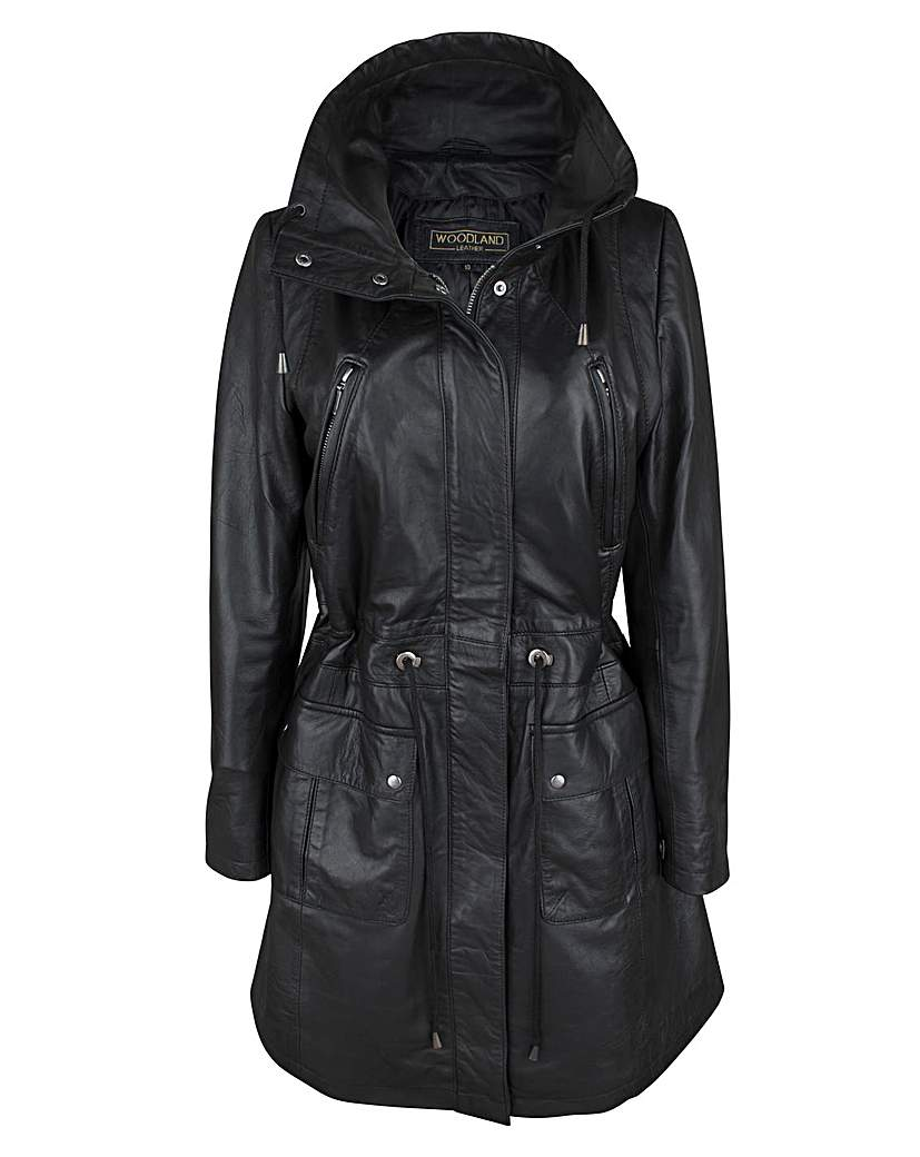 Woodland 3/4 Parka Coat