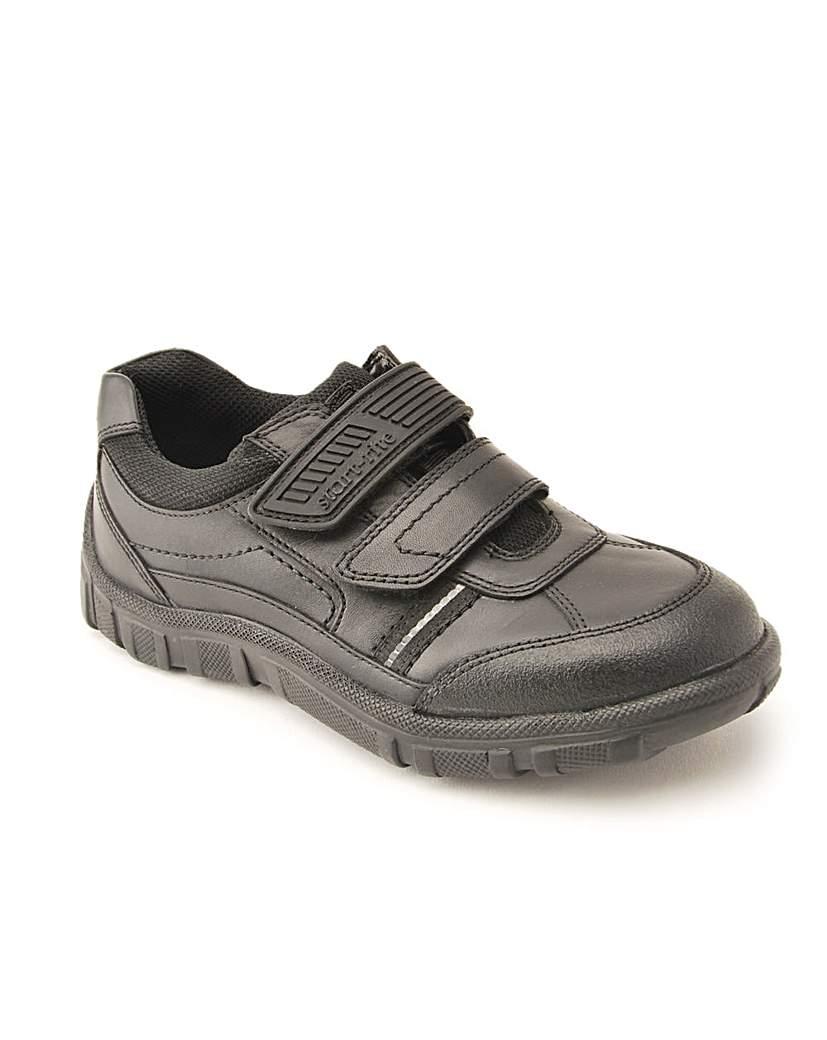 Start-rite Luke Black Leather Fit G