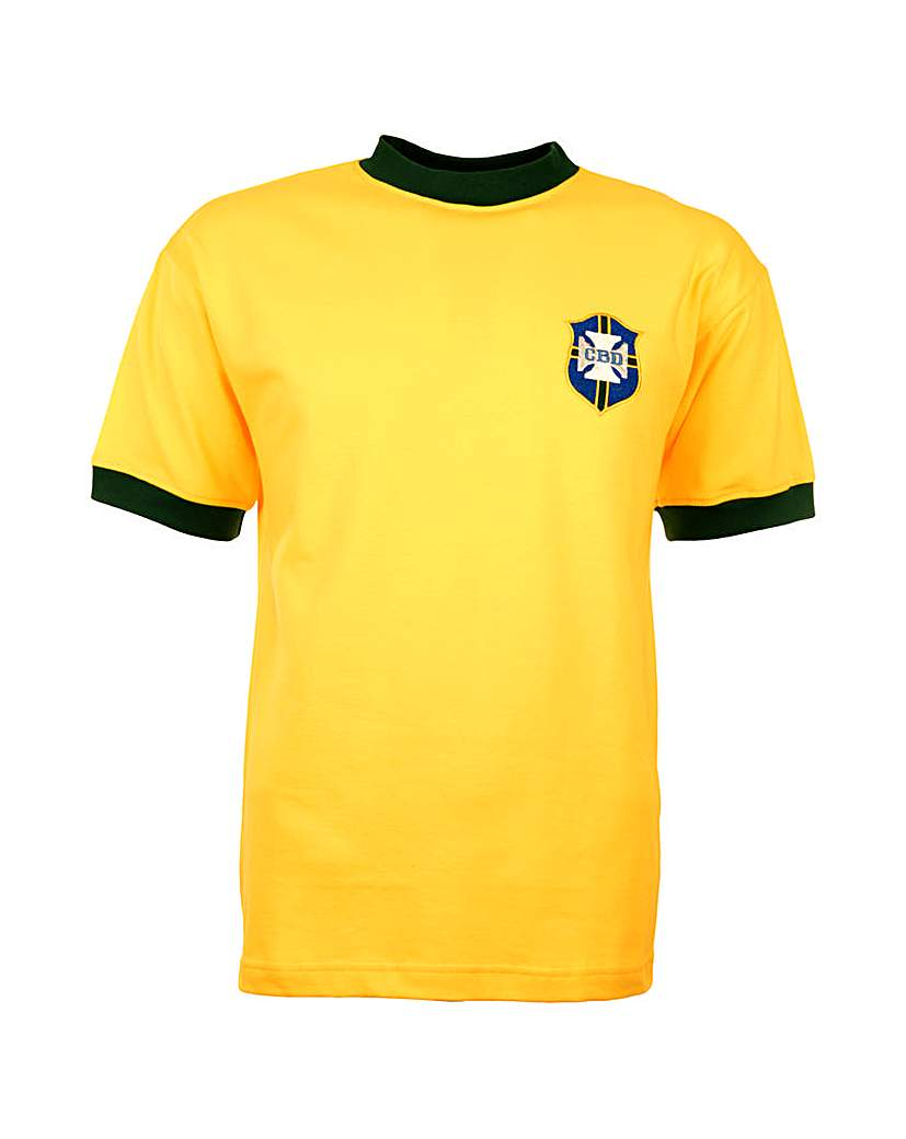 Brazil Retro Football Shirt