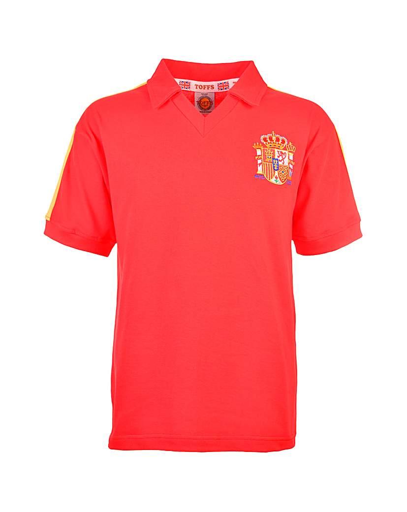 Spain Retro Football Shirt.