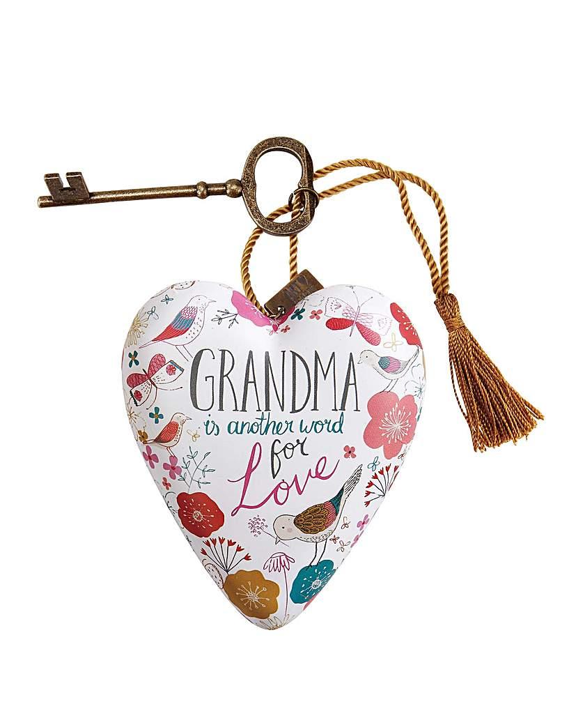 Image of Art Hearts Grandma Art Heart