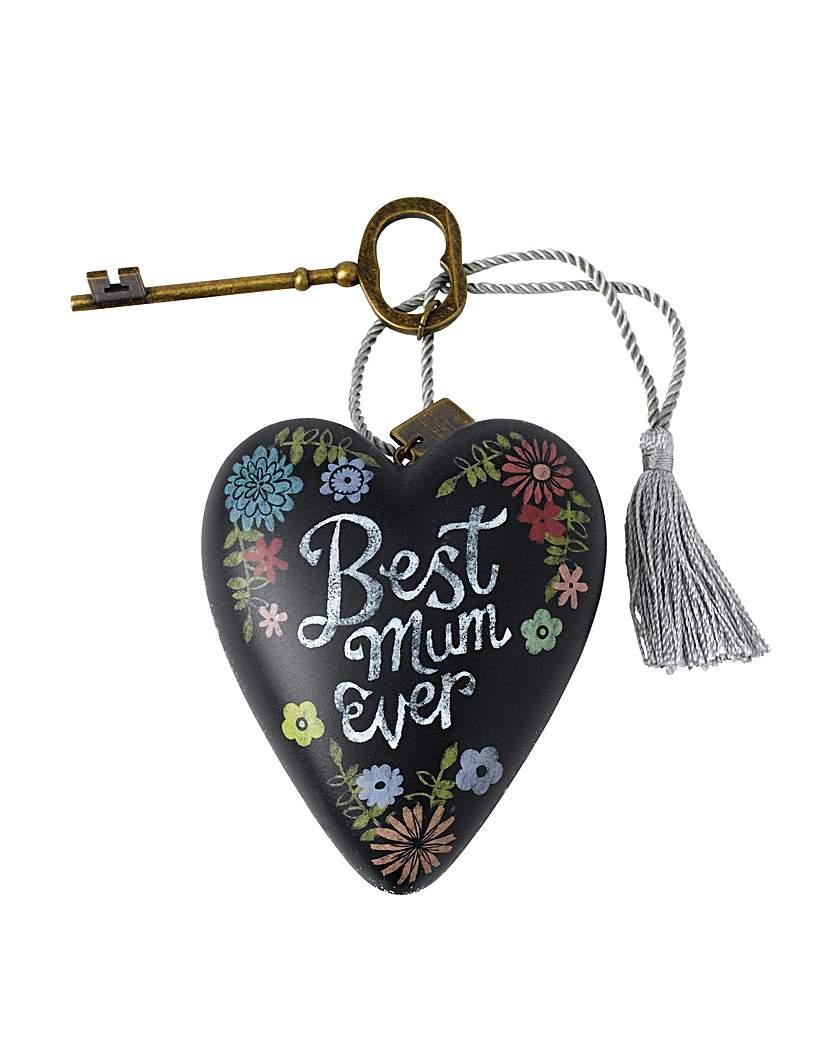 Image of Art Hearts Best Mum Art Heart