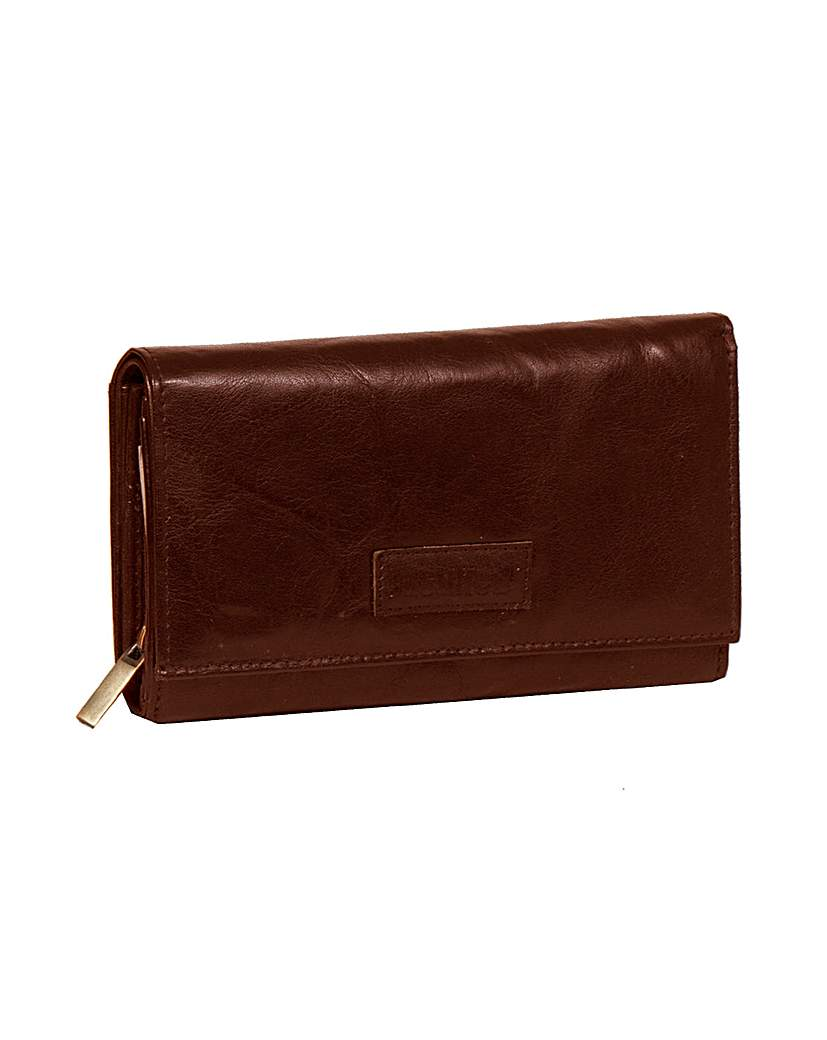 Justified Genuine Leather Purse.