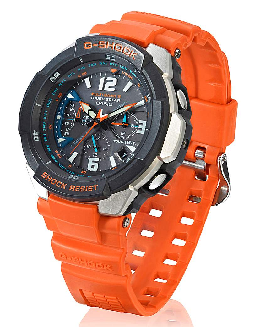 Image of G Shock Radio-Controlled Solar Watch